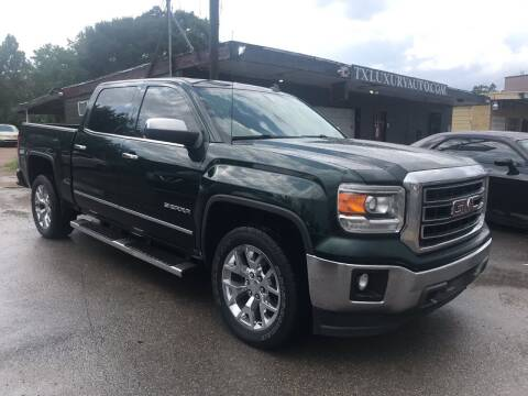 2014 GMC Sierra 1500 for sale at Texas Luxury Auto in Houston TX