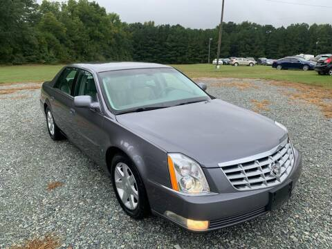 2007 Cadillac DTS for sale at Sanford Autopark in Sanford NC