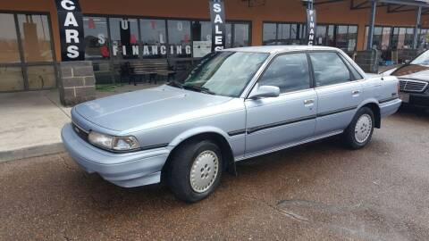 1989 Toyota Camry for sale at The Auto Toy Store in Robinsonville MS