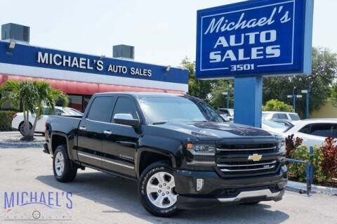 2018 Chevrolet Silverado 1500 for sale at Michael's Auto Sales Corp in Hollywood FL
