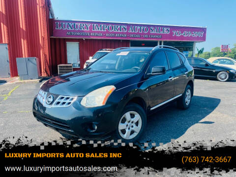 2013 Nissan Rogue for sale at LUXURY IMPORTS AUTO SALES INC in North Branch MN