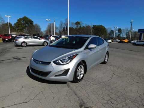 2014 Hyundai Elantra for sale at Paniagua Auto Mall in Dalton GA