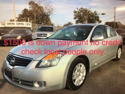 2009 Nissan Altima for sale at Cartina in Tampa FL