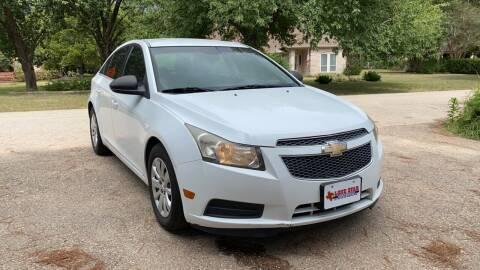 2011 Chevrolet Cruze for sale at CARWIN MOTORS in Katy TX