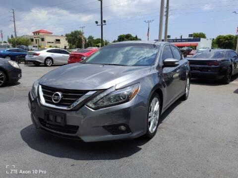 2017 Nissan Altima for sale at Start Auto Liquidation Center in Miramar FL