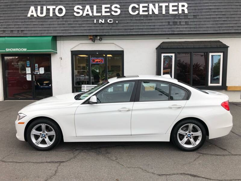 2015 BMW 3 Series for sale at Auto Sales Center Inc in Holyoke MA