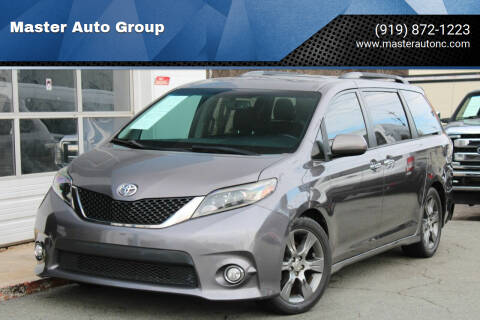 2015 Toyota Sienna for sale at Master Auto Group in Raleigh NC