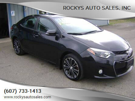 2016 Toyota Corolla for sale at Rockys Auto Sales, Inc in Elmira NY