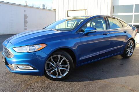 2017 Ford Fusion for sale at Platinum Motors LLC in Reynoldsburg OH