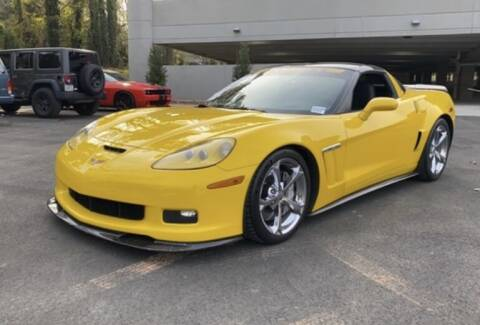 2010 Chevrolet Corvette for sale at Texas Luxury Auto in Houston TX