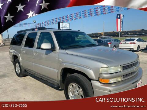 2004 Chevrolet Suburban for sale at Car Solutions Inc. in San Antonio TX