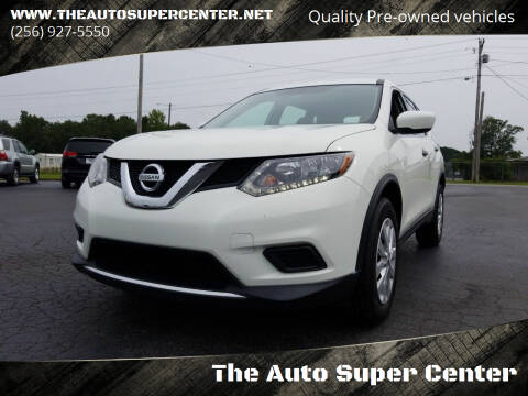 2016 Nissan Rogue for sale at The Auto Super Center in Centre AL