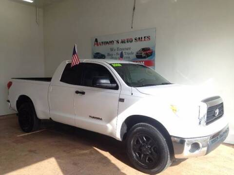 2009 Toyota Tundra for sale at Antonio's Auto Sales in South Houston TX
