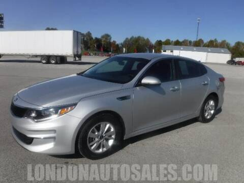 2017 Kia Optima for sale at London Auto Sales LLC in London KY