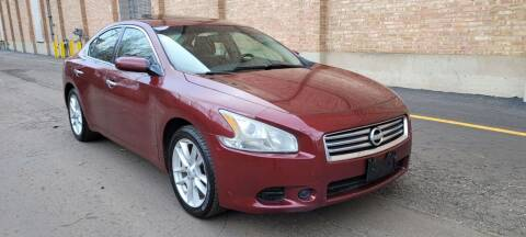 2013 Nissan Maxima for sale at U.S. Auto Group in Chicago IL