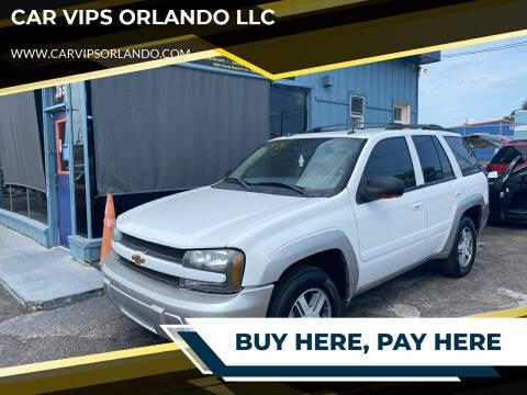 2005 Chevrolet TrailBlazer for sale at CAR VIPS ORLANDO LLC in Orlando FL