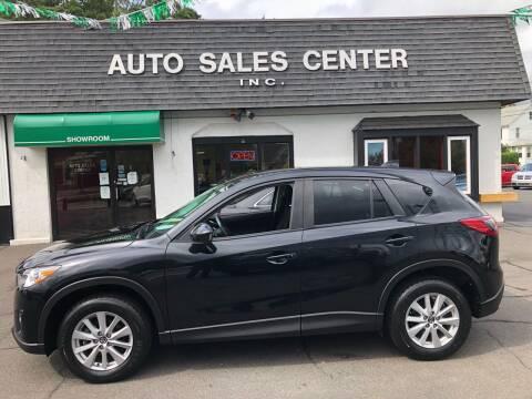 2015 Mazda CX-5 for sale at Auto Sales Center Inc in Holyoke MA