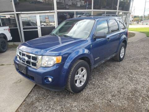 2008 Ford Escape Hybrid for sale at Fansy Cars in Mount Morris MI