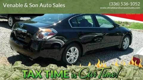 2010 Nissan Altima for sale at Venable & Son Auto Sales in Walnut Cove NC