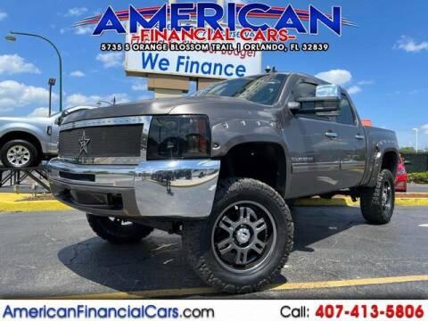 2013 Chevrolet Silverado 1500 for sale at American Financial Cars in Orlando FL
