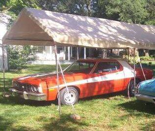 1974 Ford Torino for sale at Classic Car Deals in Cadillac MI