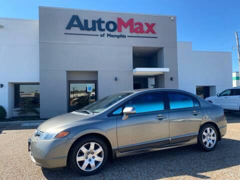 2006 Honda Civic for sale at AutoMax of Memphis - Alex Vivas in Memphis TN