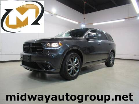 2017 Dodge Durango for sale at Midway Auto Group in Addison TX