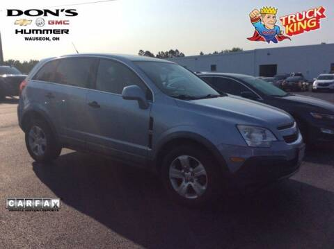 2013 Chevrolet Captiva Sport for sale at DON'S CHEVY, BUICK-GMC & CADILLAC in Wauseon OH