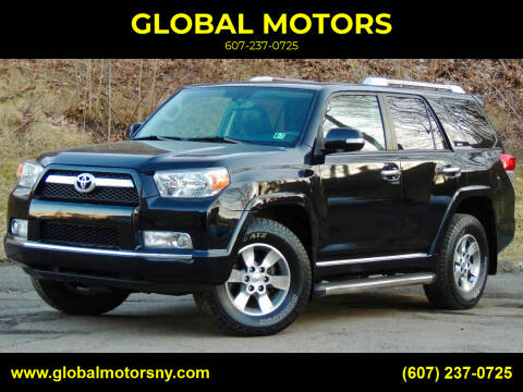 2011 Toyota 4Runner for sale at GLOBAL MOTORS in Binghamton NY