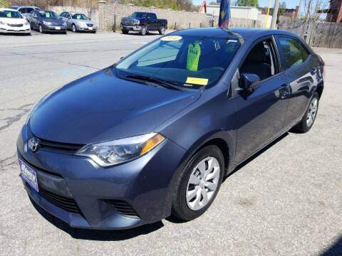 2014 Toyota Corolla for sale at Howe's Auto Sales in Lowell MA