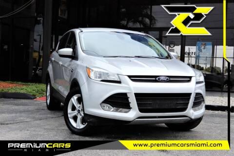 2015 Ford Escape for sale at Premium Cars of Miami in Miami FL