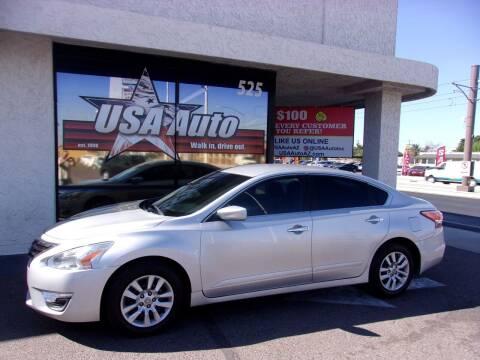 2015 Nissan Altima for sale at USA Auto Inc in Mesa AZ