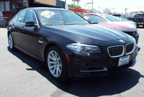 2014 BMW 5 Series for sale at 559 Motors in Fresno CA