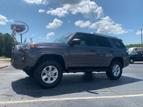2016 Toyota 4Runner for sale at Specialty Ridez in Pendleton SC