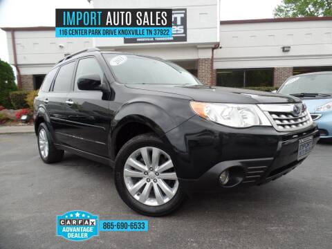 2011 Subaru Forester for sale at IMPORT AUTO SALES in Knoxville TN