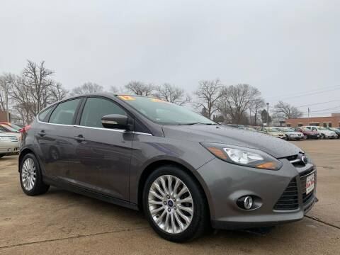 2012 Ford Focus for sale at Victory Motors in Waterloo IA
