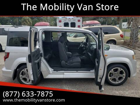 2009 Honda Element for sale at The Mobility Van Store in Lakeland FL