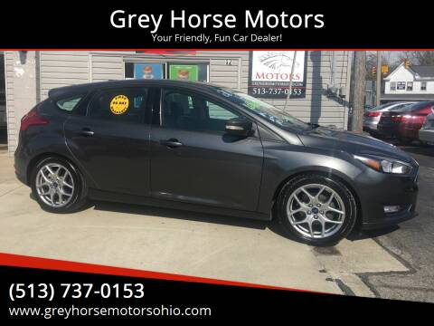 2015 Ford Focus for sale at Grey Horse Motors in Hamilton OH