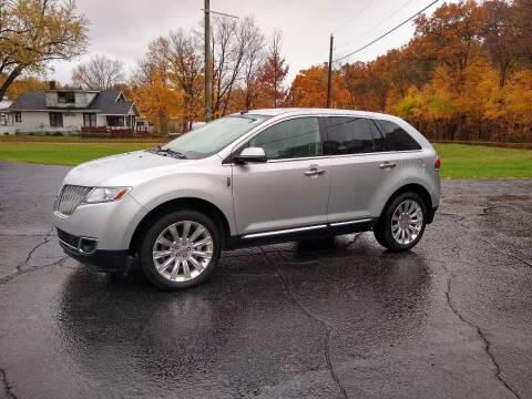 2011 Lincoln MKX for sale at Depue Auto Sales Inc in Paw Paw MI