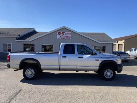 2008 Dodge Ram Pickup 2500 for sale at B & B Auto Sales in Brookings SD