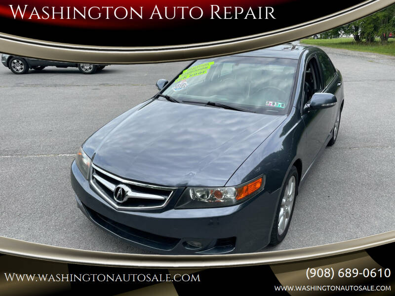 2006 Acura TSX for sale at Washington Auto Repair in Washington NJ