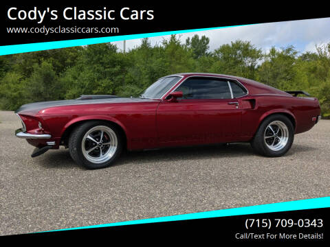 1969 Ford Mustang for sale at Cody's Classic Cars in Stanley WI