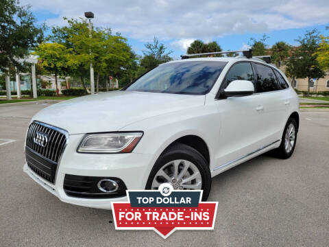 2014 Audi Q5 for sale at FIRST FLORIDA MOTOR SPORTS in Pompano Beach FL