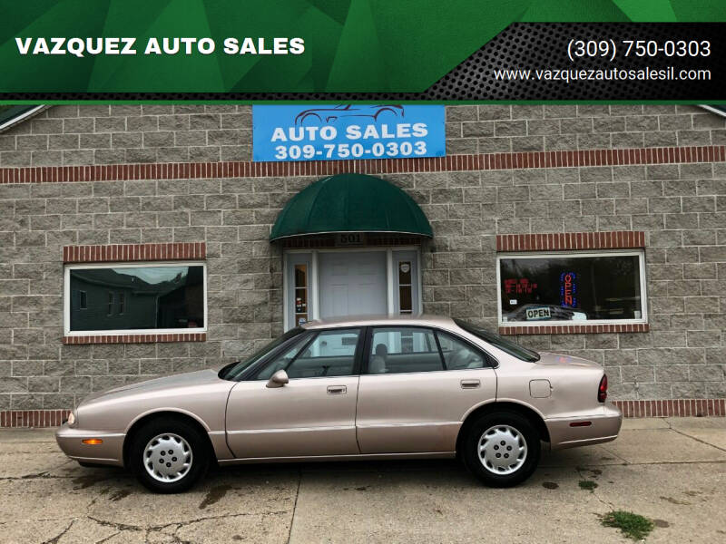1998 Oldsmobile Eighty-Eight for sale at VAZQUEZ AUTO SALES in Bloomington IL