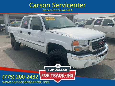 2005 GMC Sierra 2500HD for sale at Carson Servicenter in Carson City NV