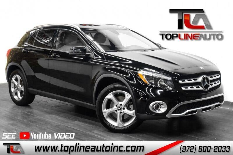 2018 Mercedes-Benz GLA for sale in Dallas, TX