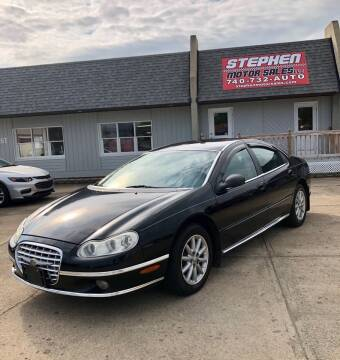 2002 Chrysler Concorde for sale at Stephen Motor Sales LLC in Caldwell OH