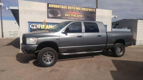 2007 Dodge Ram Pickup 1500 for sale at Advantage Auto Motorsports in Phoenix AZ