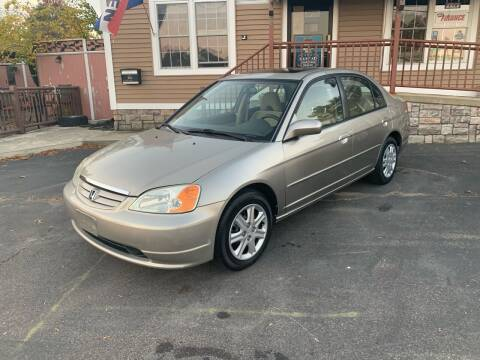 2003 Honda Civic for sale at Lux Car Sales in South Easton MA
