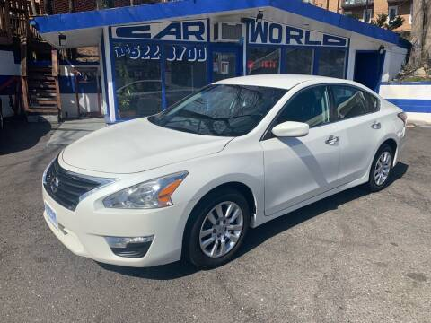 2014 Nissan Altima for sale at Car World Inc in Arlington VA